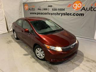 Used 2012 Honda Civic Sdn LX for sale in Peace River, AB