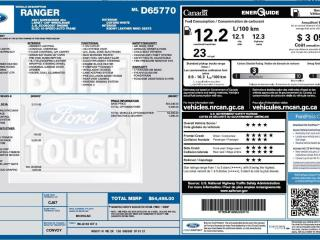 New 2021 Ford Ranger LARIAT for sale in Peace River, AB