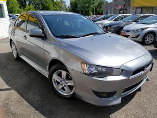 Used 2013 Mitsubishi Lancer SPORTY/AUTO/P.ROOF/SPOILER/LOADED/ALLOYS for sale in Scarborough, ON