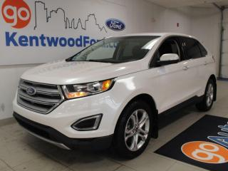 Used 2018 Ford Edge Titanium | AWD | 300a | Remote Starter | NAV | Heated Steering/Seats for sale in Edmonton, AB