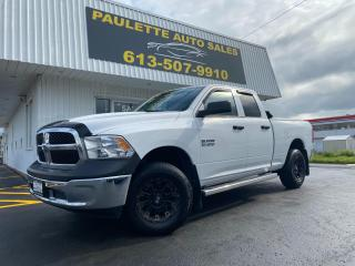 Used 2016 RAM 1500 ST Bed Liner! Roll Up Tonneau Cover! NAV! CD Player! Aftermarket XD KMC Wheels! for sale in Kingston, ON