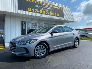 Used 2017 Hyundai Elantra L Clean CarFax! 6 Speed Manual! Heated Seats! CD Player! for sale in Kingston, ON