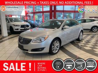Used 2016 Buick Regal Regal Turbo AWD - No Accident / Local / Nav / Sunroof for sale in Richmond, BC
