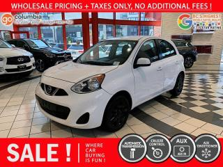 Used 2017 Nissan Micra SV for sale in Richmond, BC