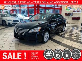Used 2015 Nissan Sentra Sentra S for sale in Richmond, BC