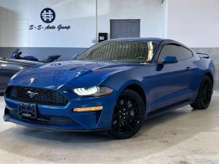 Used 2018 Ford Mustang ECOBOOST 6 SPEED|BACK UP|19 INCH WHEELS|FASTBACK| for sale in Oakville, ON