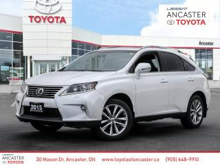 Used 2015 Lexus RX 350 350 | TOURING | NO ACCIDENTS for sale in Ancaster, ON