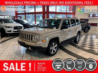 Used 2017 Jeep Patriot High Altitude Edition - No Accident / Local / Sunroof / No Dealer Fees for sale in Richmond, BC