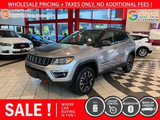 Used 2019 Jeep Compass Trailhawk - One Owner / Local / Low Mileage / No Dealer Fees for sale in Richmond, BC