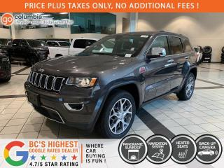 New 2021 Jeep Grand Cherokee Limited for sale in Richmond, BC