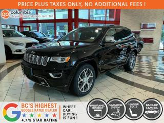 New 2021 Jeep Grand Cherokee Overland for sale in Richmond, BC