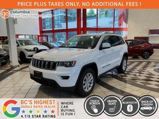 New 2021 Jeep Grand Cherokee Laredo for sale in Richmond, BC