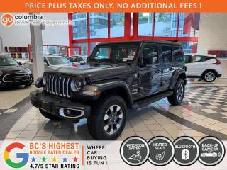 New 2021 Jeep Wrangler Unlimited Sahara / Sky One Top for sale in Richmond, BC