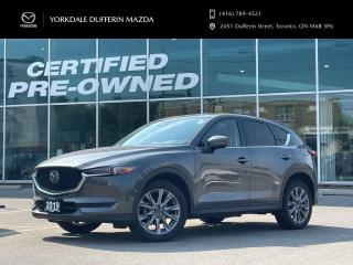 Used 2019 Mazda CX-5 GT AWD 2.5L I4 CD at ONE OWNER / LOW KMS! for sale in York, ON