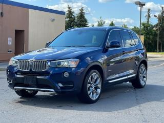Used 2015 BMW X3 xDrive28d AWD Navigation/Panoramic Sunroof /Camera for sale in North York, ON