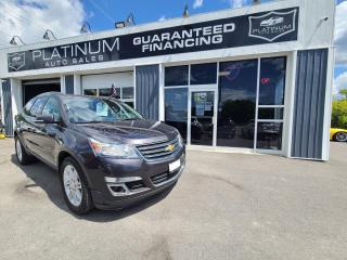 Used 2015 Chevrolet Traverse 1LT for sale in Kingston, ON