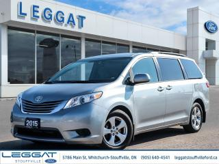 Used 2015 Toyota Sienna LE for sale in Stouffville, ON