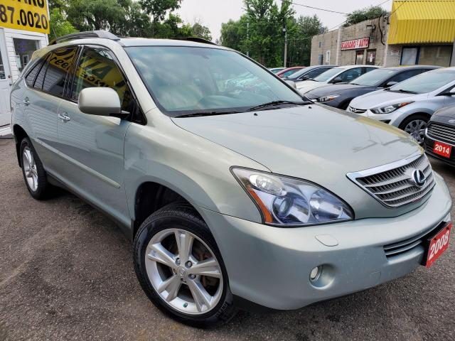 2008 Lexus RX 400h 400H/4WD/HYBRID/LEATHER/ROOF/LOADED/ALLOYS