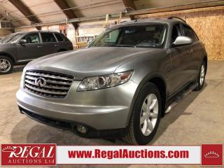 Used 2004 Infiniti FX35 for sale in Calgary, AB
