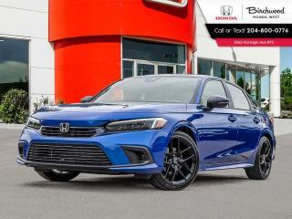 New 2022 Honda Civic Sport for sale in Winnipeg, MB