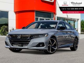 New 2021 Honda Accord Sport for sale in Winnipeg, MB