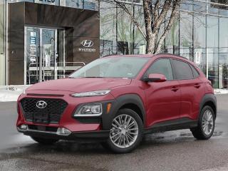 New 2021 Hyundai KONA LUXURY for sale in Winnipeg, MB