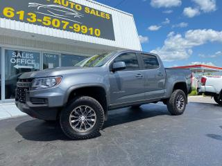Used 2021 Chevrolet Colorado Super Low KMS! One Owner! Clean CarFax! ZR2 Off Road Package!! Leather! for sale in Kingston, ON