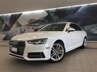 Used 2018 Audi A4 2.0T Technik + Sunroof | Rear Cam | Nav for sale in Whitby, ON