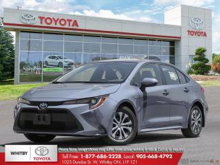 New 2022 Toyota Corolla Hybrid HYBRID w/Li Battery for sale in Whitby, ON