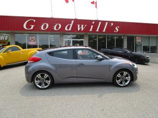 Used 2016 Hyundai Veloster EXTREMELY WELL CARED FOR! REAR PARKING SENSORS! for sale in Aylmer, ON