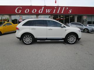Used 2013 Lincoln MKX NAVI! ROOF! HEATED/ COOLED LEATHER SEATS! for sale in Aylmer, ON