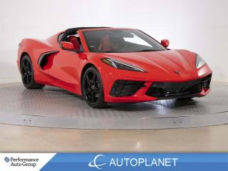 Used 2021 Chevrolet Corvette Stingray, 1LT, Bose Sound, Red Interior, 490 HP! for sale in Brampton, ON