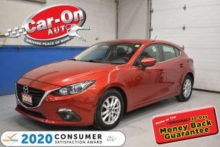Used 2015 Mazda MAZDA3 Sport HATCHBACK GS w/ MOONROOF | CONVENIENCE PKG | REAR for sale in Ottawa, ON