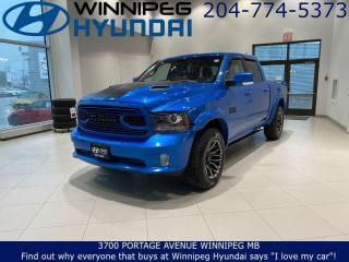 Used 2018 RAM 1500 SPORT - Backup camera, Apple car pay&Android auto for sale in Winnipeg, MB