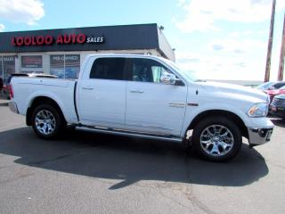 Used 2016 RAM 1500 Limited Crew Cab 4WD Eco Diesel Navi Camera Certified for sale in Milton, ON