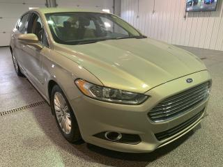 Used 2015 Ford Fusion Hybrid SE #Clean Carfax #Leather for sale in Brandon, MB