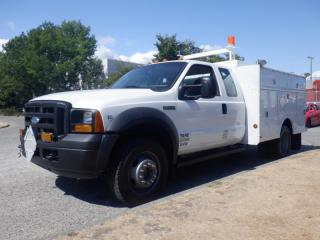 Used 2007 Ford F-550 XL Super Duty SuperCab 4WD Dually Service Truck for sale in Burnaby, BC