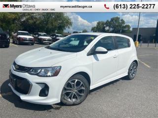 Used 2017 Chevrolet Sonic LT  LT, RS, HATCHBACK, REAR VISION CAMERA, ALLOY WHEELS for sale in Ottawa, ON