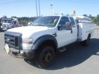 Used 2010 Ford F-450 SD SuperCab 4WD Diesel Service Truck with Power Tailgate for sale in Burnaby, BC