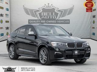 Used 2017 BMW X4 M40i, AWD, Navi, Heads-up Dis, RearCam, SunRoof, NoAccident for sale in Toronto, ON