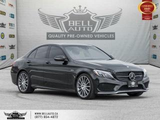 Used 2017 Mercedes-Benz C-Class AMG C 43, AWD, Navi, 360Cam, Pano, RedInt, DriveAsst for sale in Toronto, ON