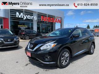 Used 2016 Nissan Murano SV  - Sunroof -  Navigation - $155 B/W for sale in Orleans, ON