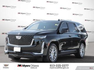 Used 2021 Cadillac Escalade Premium Luxury  PREMIUM, POWER STEPS, TECH PACKAGE, SUPER CRUISE, AKG SOUND for sale in Ottawa, ON