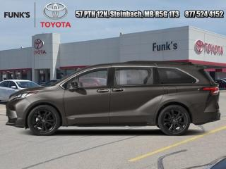 New 2021 Toyota Sienna XSE 7-Passenger  - Sunroof for sale in Steinbach, MB