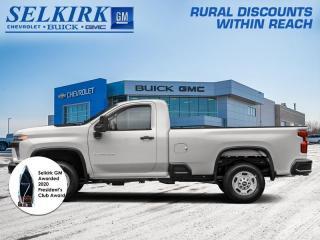 New 2021 Chevrolet Silverado 2500 HD Work Truck  - Apple CarPlay for sale in Selkirk, MB
