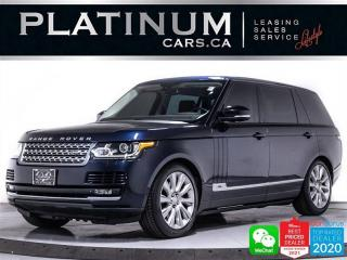Used 2015 Land Rover Range Rover Supercharged LWB, 510HP, CAM, MASSAGE, PANO, CAM for sale in Toronto, ON