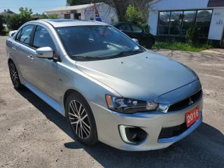 Used 2016 Mitsubishi Lancer GT for sale in Barrie, ON