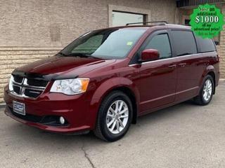 Used 2020 Dodge Grand Caravan SXT* Remote Starter/Navigation/DVD/Heated Seats for sale in Winnipeg, MB