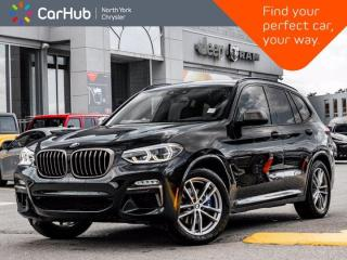 Used 2018 BMW X3 M40i Heated Seats & Wheel Panoramic Roof Assists Navigation for sale in Thornhill, ON