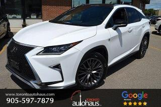 Used 2017 Lexus RX 350 F SPORT 3 I PANORAMIC I NAVI I NO ACCIDENTS for sale in Concord, ON